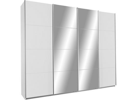 Šatníková Skriňa Bensheim - biela, Konvenčný, kompozitné drevo (271/230/62cm) - Modern Living