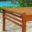 Loungetisch Samoa - Naturfarben, Basics, Holz (122/70/43cm) - Ambia Garden