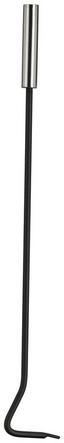 Kaminbesteck Bina 5 teilig - Silberfarben, MODERN, Metall (23/15/52cm)