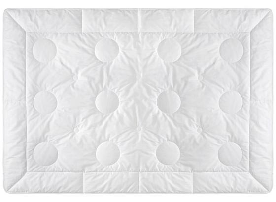 Prošívaná Přikrývka Wildseide - bílá, textil (135/200cm) - Premium Living