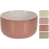 Müslischale Juliette - Goldfarben/Altrosa, KONVENTIONELL, Keramik (11/6cm)