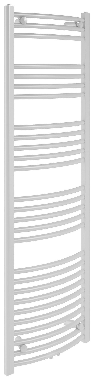 Badkeizkörper Bari Gebogen,600x1600mm - Weiß, Metall (60/160/12cm)