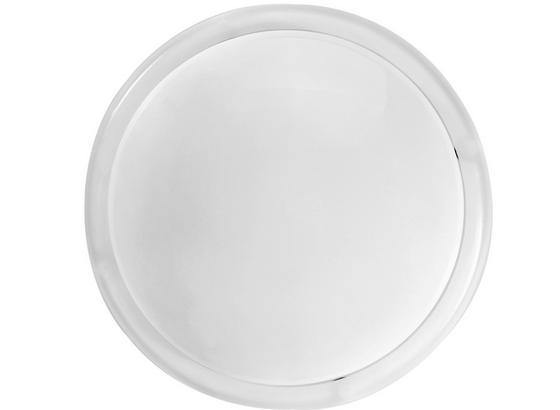 Drück-mich-Leuchte Babsi inkl. Batterien - Weiß, KONVENTIONELL, Kunststoff/Metall (12,5cm) - Homezone