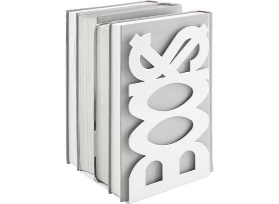 Držiak Na Knihy Books - biela, kov (12/21/11cm)