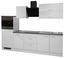 Küchenleerblock Lucca 270cm Weiß - Weiß, MODERN, Holzwerkstoff (270/60cm)