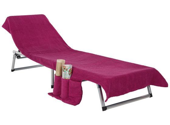 Osuška Na Lehátko Enrico 70x200cm - pink/sivá, textil (70/200cm) - Mömax modern living