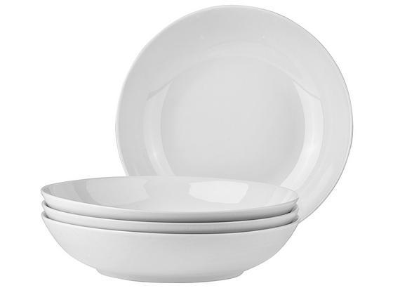 Tanier Na Polievku 4 Ks Set, 'billy' - biela, Moderný, keramika (20,5cm) - Mömax modern living