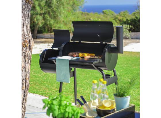 Barbecue Grillmax 1 - černá, kov (112/116,5/63cm) - Modern Living