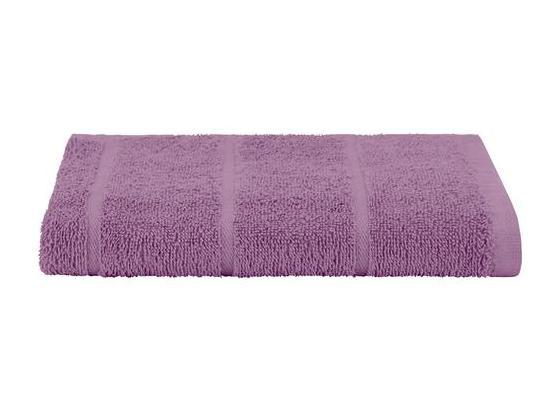 Badetuch Liliane - Flieder, KONVENTIONELL, Textil (100/150cm) - Ombra