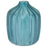 Vase Thery - Blau, MODERN, Glas (14/18,5cm) - Luca Bessoni