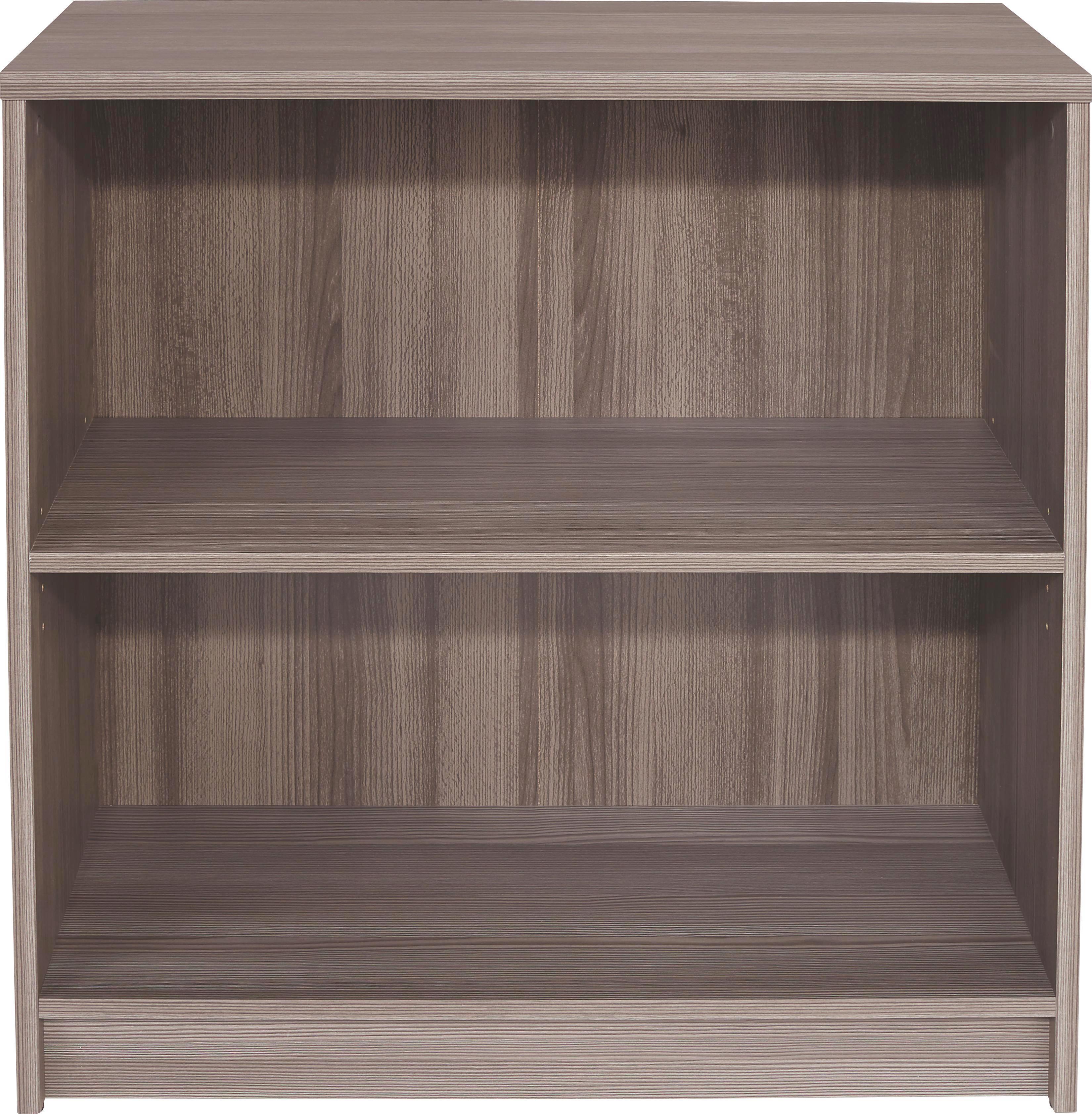 Regál 4-you Yur01 - tmavě hnědá, Moderní, dřevěný materiál (74/85,4/34,6cm)