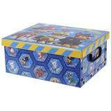 Aufbewahrungsbox Paw Patrol - Blau/Rot, Papier/Kunststoff (37/31/16cm)