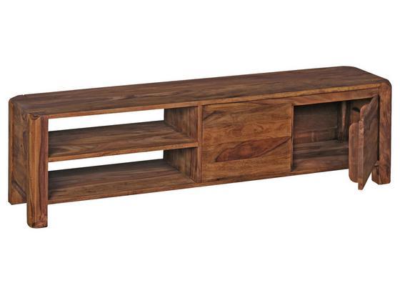 Lowboard Boha B: ca. 140 cm - Sheeshamfarben, KONVENTIONELL, Holz (140/40/35cm) - Livetastic