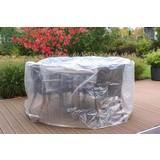 Schutzhülle Basic für Sitzgruppen - Transparent, MODERN, Kunststoff (320/320/96cm)