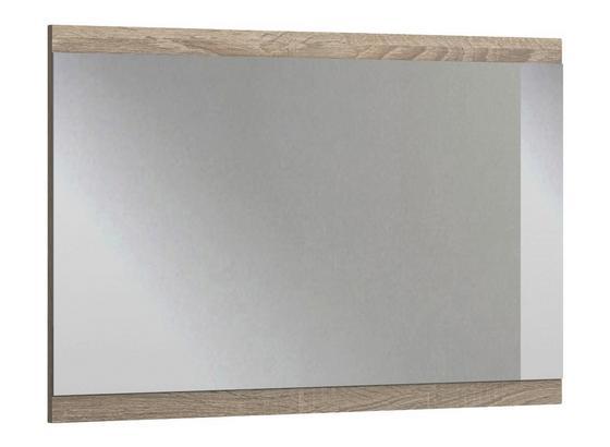 Wandspiegel Nadja B: ca. 47cm - Eichefarben, KONVENTIONELL, Glas/Holzwerkstoff (47/115/4cm) - Cantus