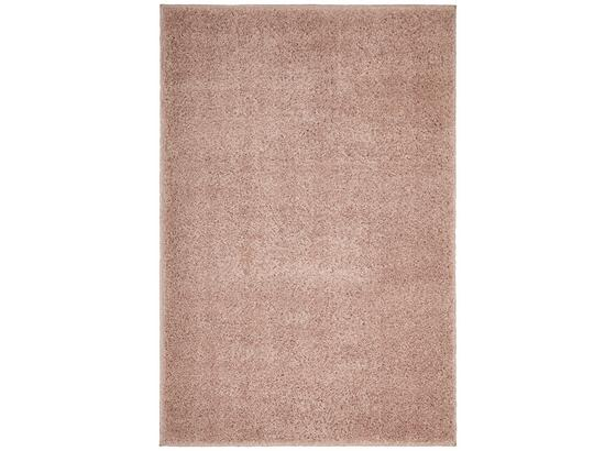 Koberec S Vysokým Vlasem Bono 120x175cm - růžová, textil (120/175cm) - Mömax modern living