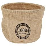 Aufbewahrungskörbchen Jutta - Naturfarben, Basics, Textil (14/10cm)