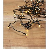Lichterkette Lory - Grün, ROMANTIK / LANDHAUS, Kunststoff (800cm) - James Wood