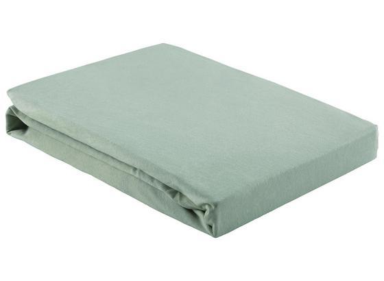Prostěradlo Napínací Basic - světle zelená, textil (150/200cm) - Mömax modern living