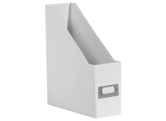 Šanon Lorenz - bílá, kov/karton (29/8,6/24,2cm) - Mömax modern living