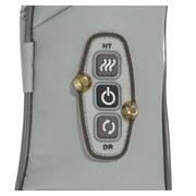 Nackenmassagegerät Vitalmaxx Shiatsu - Lila/Grau, Basics, Kunststoff (134/18/14cm)