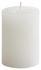 Stumpenkerze Ivonn - Weiß, KONVENTIONELL (7/10cm) - Ombra
