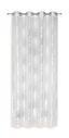 Ösenvorhang Aylin - Naturfarben, KONVENTIONELL, Textil (140/245cm) - Ombra