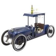 Car Bar B/H/T: 196/76/51 cm Blau - Blau, MODERN, Metall (196/76/51cm) - MID.YOU