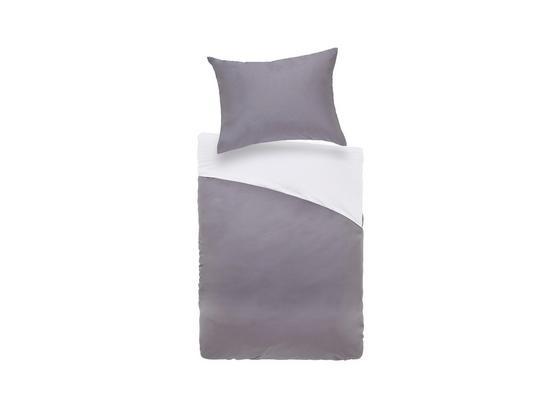 Povlečení Belinda Xl - světle šedá/antracitová, textil (140/220cm) - Premium Living
