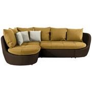 Sedacia Súprava S Rozkladom Florida 192x280 Cm - prírodné farby/hnedá, Moderný, textil (192/280cm) - Luca Bessoni