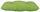 Sitzkissen Elli 38x38 cm - Grün, KONVENTIONELL, Textil (38cm) - Ombra