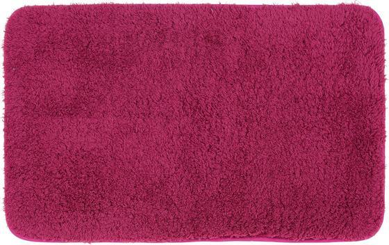 Badematte Selina - Türkis/Pink, MODERN, Textil (50/80cm) - Luca Bessoni