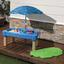 Sand- und Wassertisch Step2 Cascading Cove - Blau/Grün, MODERN, Kunststoff (108/58,5/61cm)