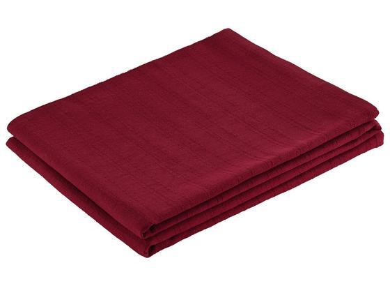 Prehoz Solid One -ext- - červená, textil (140/210cm)