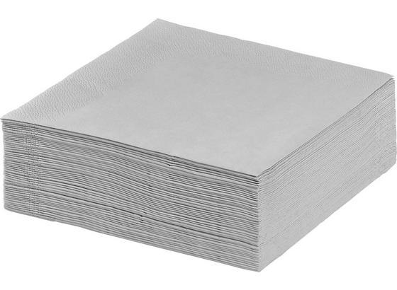 Servítky Kathleen - sivá, papier (33/33cm) - Mömax modern living