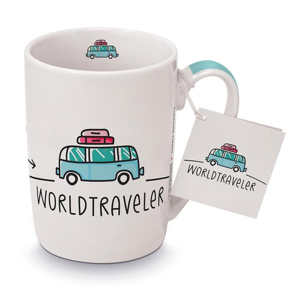 Hrnček Na Kávu Worldtraveler