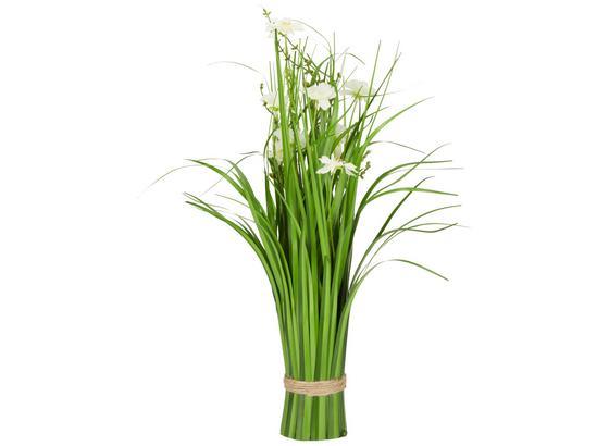 Rostlina Umělá Cosmea I - bílá/zelená, Basics, umělá hmota (44 cmcm)