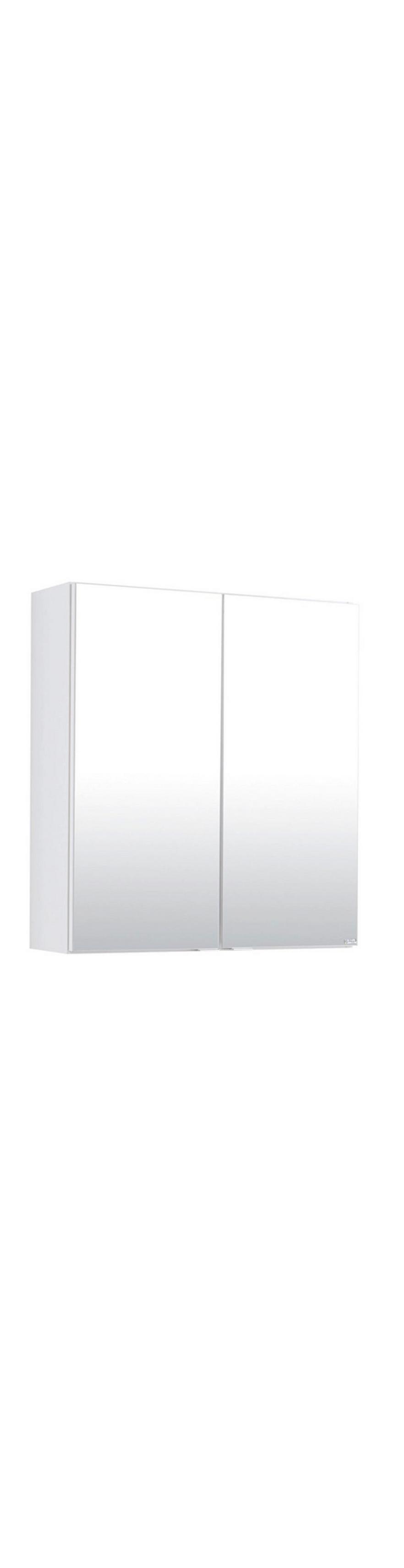 Berühmt Spiegelschrank mit 2 Türen, Weiß | Möbelix CD65