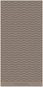Duschtuch Bruno Banani - Taupe, Textil (70/140cm) - Bruno Banani