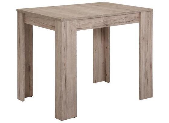 Jedálenský Stôl Kassel  *cenový Trhák* - farby dubu/piesková, Moderný, kompozitné drevo (86/76/60cm)