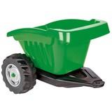 ANHÄNGER Grün für Traktor Strong Bull - Silberfarben/Schwarz, Basics, Kunststoff (52,7/45,6/35cm)