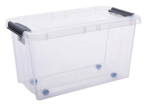 Box Úložný Chaos - průhledné, Moderní, umělá hmota (72,5/39,5/39cm)