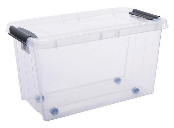 Uskladňovací Box Chaos - transparentné, Moderný, plast (72,5/39,5/39cm)