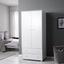 Šatná Skriňa Milo - biela, Moderný, drevo (80/178/55cm) - Modern Living