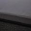 Lehátko Sarah - černá/tmavě šedá, Moderní, kov/textil (60/28/198cm) - Modern Living