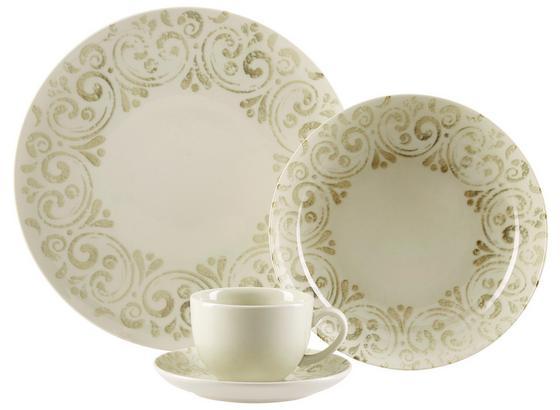 Kombiservice Frini - Weiß, ROMANTIK / LANDHAUS, Keramik - James Wood