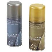 Glitzerspray 150 ml - Silberfarben/Goldfarben, KONVENTIONELL (150ml)