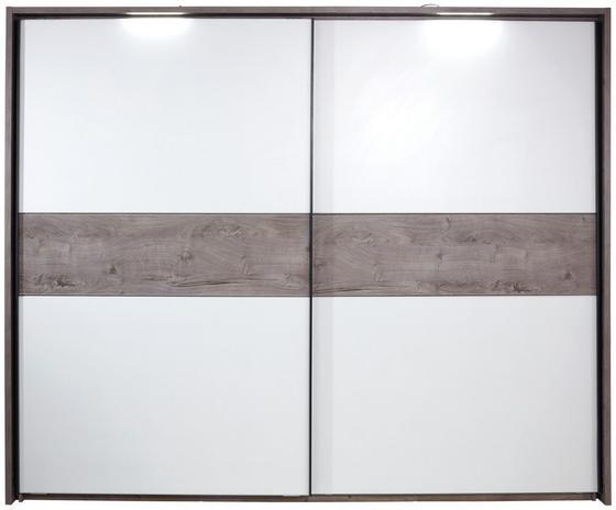 Passepartoutrahmen Zu STS Julia - Eichefarben, KONVENTIONELL, Holzwerkstoff (325/230/17,5cm)