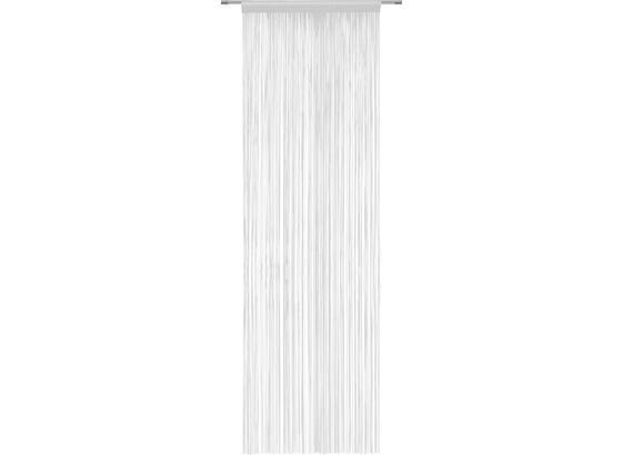 Nitkový Záves Victoria - strieborná, textil (90/245cm) - Mömax modern living
