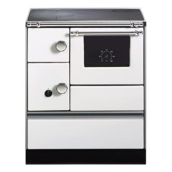 Landhausherd K 176a-70 Weiß/rechts - Weiß, KONVENTIONELL, Metall (70/85/60cm) - Wamsler